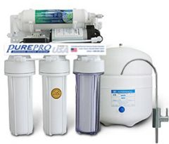 PurePro RO105P RO víztisztító nyomásfokozóval